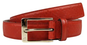 Gucci Diamante Leather Belt with Square Buckle 120/48 345658 6516