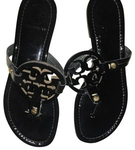 Tory burch millers Black Sandals
