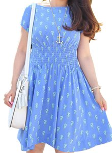 Kate Spade short dress Adventure Blue on Tradesy