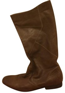 Sam Edelman Riding Taupe Vintage Leather Brown Boots