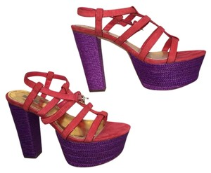 Report Signature red and purple Platforms