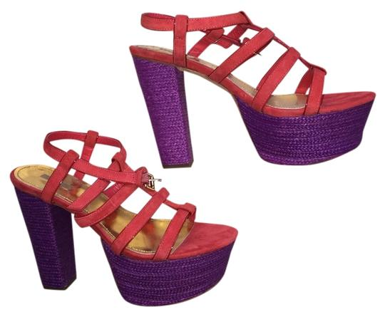 Preload https://item1.tradesy.com/images/report-signature-red-and-purple-chunky-heel-platforms-size-us-9-regular-m-b-2064110-0-0.jpg?width=440&height=440