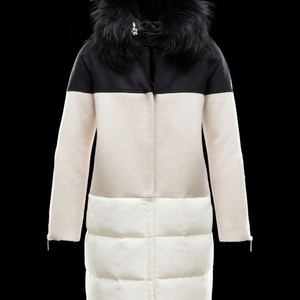 MONCLER GAMME ROUGE Women Fur Coat