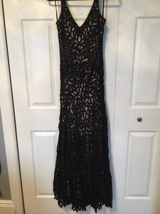 Sue Wong Gown Lace Formal Evening Dress