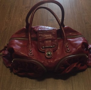 Botkier Satchel in wine red