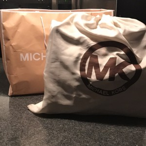Michael Kors Tote in Chestnut and Rose Gold