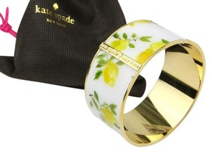 Kate Spade Kate Spade New York Lemons Bangle NEW With Tags & Pouch