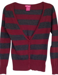 Body Central V-neck Striped Library College Cardigan