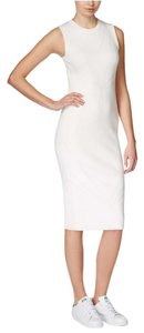 Rachel Roy short dress White Sleeveless Knit on Tradesy