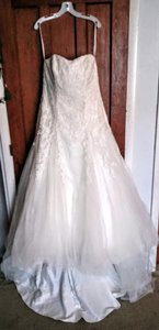 David's Bridal V3469 Wedding Dress