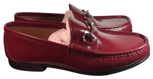 Gucci Collection Shade Lux Men Hosebit Red Flats