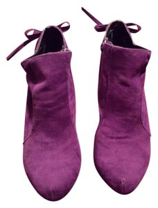 Qupid purple Mules