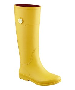 Tommy Hilfiger Rainboot Wellies Waterproof Yellow Boots