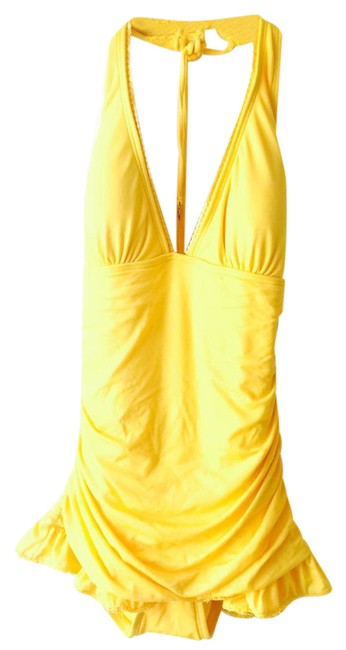 Item - Yellow One-piece Bathing Suit Size 4 (S)