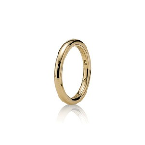 PANDORA PANDORA SOFTLY SPOKEN 14K GOLD RING SIZE 7.5 (56) (Discontinued)