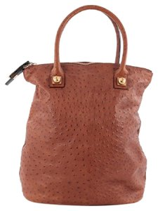 Chloé Chloe Leather Tote in Brown