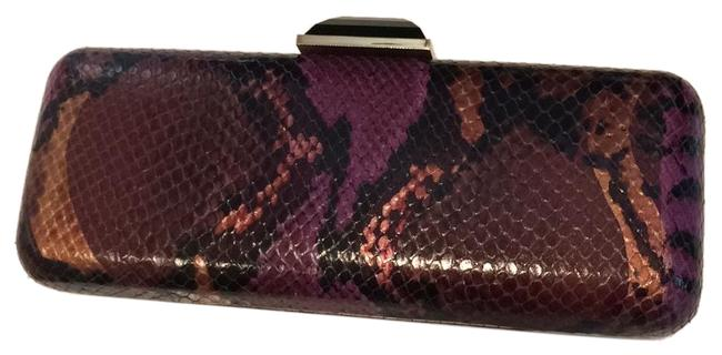 Item - Overture Collection Purple Leather Clutch