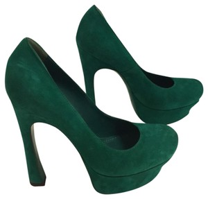 Saint Laurent green Pumps