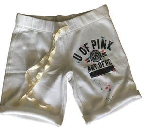 PINK Vs Art Dept. White Shorts