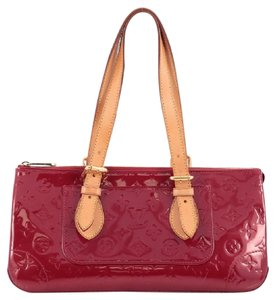 Louis Vuitton Vernis Satchel in Red