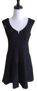 Nanette Lepore short dress Black Artisan Fit And Flare Lace on Tradesy