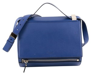 Givenchy Leather Satchel in Blue