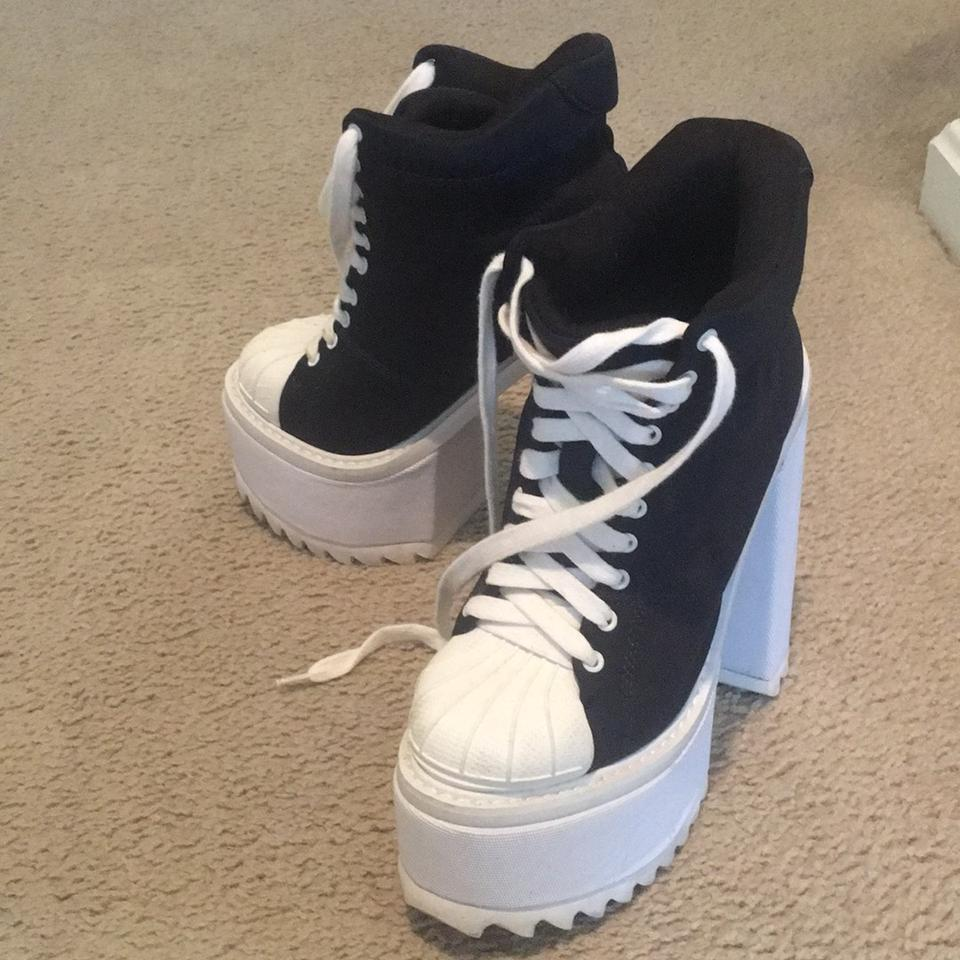 Jeffrey Campbell Black And White Havana Last Limited