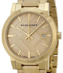 Burberry The City Time | Swiss Gold-Tone Stainless Steel Bracelet Watch