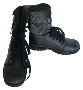 Smxues Black Boots