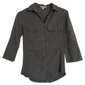 James Perse Casual Preppy Button Down Shirt