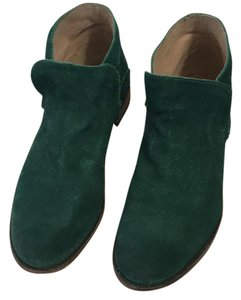 Free People emerald green Boots