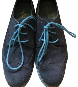 Cole Haan blue suede Athletic