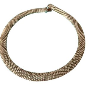 Tiffany & Co. Tiffany & Co. Somerset Mesh Necklace in 925 Sterling Silver