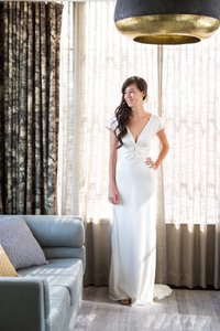 BHLDN Cassandra Wedding Dress