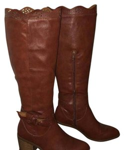 1 Madison cognac Boots