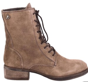 Sam Edelman Gray/Tan Boots