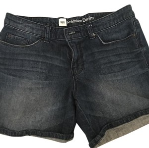 Mossimo Supply Co. Cuffed Shorts Denim