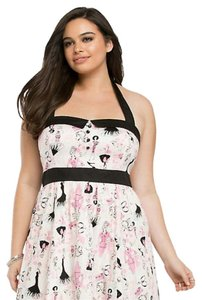 Torrid short dress Barbie print on Tradesy