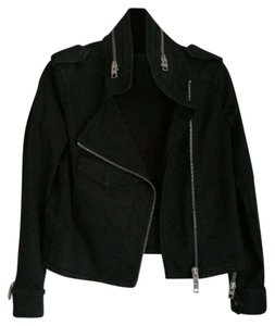 AllSaints black Womens Jean Jacket