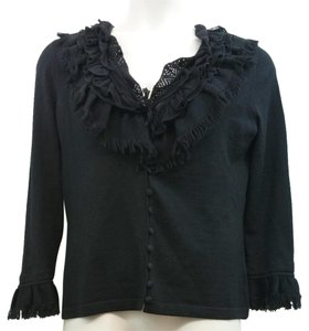 Anne Fontaine Black Knit Cardigan