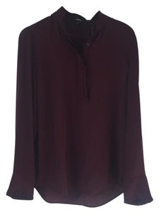 Theory Top burgundy