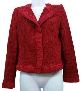 Escada Red Jacket Blazer