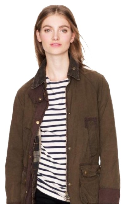 Item - Olive Green Classic Bedale Jacket (Made For J.crew) Coat Size 8 (M)