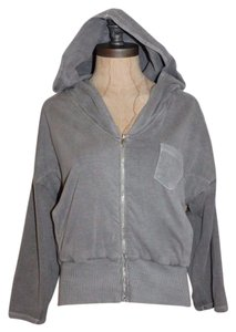 James Perse Zip Up Jacket Fleece James Sweatshirt