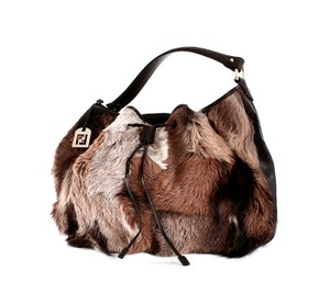 Fendi Fur Limited Shoulder Bag