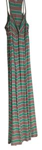 green and taupe Maxi Dress by Splendid