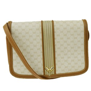 Gucci Gold Hardware Mint Vintage Perfect Everyday Rare Cross Body Bag