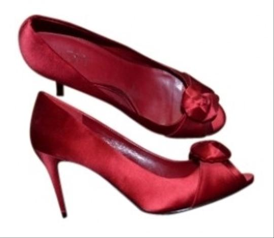 Ann Taylor LOFT Red Pumps