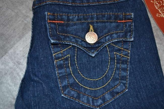 True Religion Size 24 Color Never Worn Becky Style Boot Cut Jeans-Medium Wash