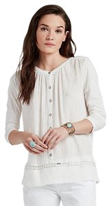 Lucky Brand Top Ivory